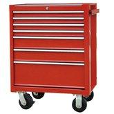 Carro para Ferramentas Vermelho com 7 Gavetas e 123 Ferramentas - STANLEY-93-557LC