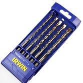 Conjunto de Brocas com Encaixe SDS Plus para Concreto com 5 Unidades - IRWIN-891518