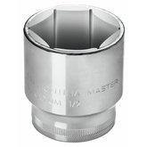 Soquete Sextavado Cr-V 12mm com Encaixe de 1/2 Pol. - TRAMONTINA- 43603112