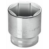 Soquete Sextavado Cr-V 22mm com Encaixe de 1/2 Pol. - TRAMONTINA-43603122