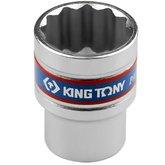 Soquete Estriado de 24 mm com Encaixe 1/2 Pol. - KINGTONY-433024