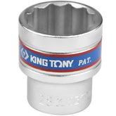 Soquete Estriado de 28 mm com Encaixe 1/2 Pol. - KINGTONY-433028