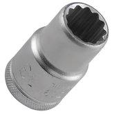 Soquete Estriado de 13mm com Encaixe de 1/2 Pol. - GEDORE-D19-13MM