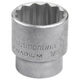 Soquete Estriado com Encaixe de 1/2 Pol. 32 mm - TRAMONTINAPRO-44833132