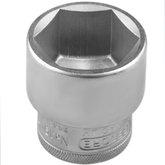 Soquete Sextavado 30 mm e Encaixe de 1/2 Pol.  - GEDORE-SOQSEX30mm