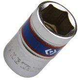 Soquete Sextavado Curto de 17 mm com Encaixe de 1/2 Pol. - KINGTONY-433517