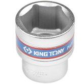 Soquete Sextavado Curto de 28 mm com Encaixe de 1/2 Pol. - KINGTONY-433528