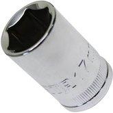 Soquete Sextavado 1/2pol. 17mm  - SATA- ST13308SC