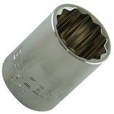 Soquete Estriado 22 mm com Encaixe de 1/2 Pol. - BELZER-204013BBR