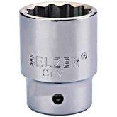 Soquete Estriado 60mm com Encaixe de 1/2 Pol. - BELZER-235006BR