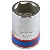Soquete Sextavado com Encaixe de 3/4 Pol. de 24 mm - KINGTONY-633524M