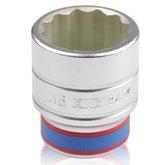 Soquete Estriado de 36 mm com Encaixe 3/4 Pol - KINGTONY-633036