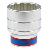 Soquete Estriado com Encaixe 3/4 Pol - 41mm - KINGTONY-633041