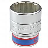 Soquete Estriado de 33 mm com Encaixe de 3/4 Pol - KINGTONY-633033