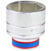 Soquete Sextavado com Encaixe de 3/4 Pol - 50 mm - KINGTONY-633550M