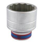 Soquete Estriado de 3/4 Pol. 50mm  - KINGTONY-633050