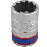 Soquete Estriado 26mm com Encaixe de 3/4 Pol. - KINGTONY-633026M