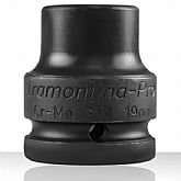 Soquete Sextavado de Impacto com Encaixe de 3/4 Pol. 19mm  - Tramontina PRO-44890119