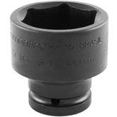 Soquete Sextavado de Impacto com Encaixe de 3/4 Pol. - 46mm  - Tramontina PRO-44890146