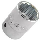 Soquete Estriado com Encaixe de 3/4 Pol. de 27 mm - BELZER-206003BR