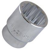 Soquete Estriado 38 mm e Encaixe 3/4 Pol.  - BELZER-206008BR