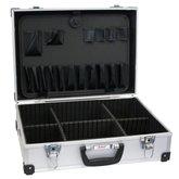 Maleta para Ferramentas Prata com 6 Compartimentos - LOYAL-12801400103