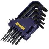Conjunto de Chaves L tipo Torks Curta - 11 Peças - IRWIN-10758