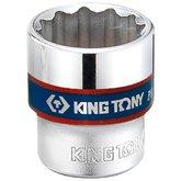 Soquete Estriado 13mm com Encaixe de 3/8 Pol. - KINGTONY-333013M