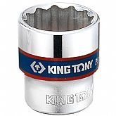 Soquete Estriado 10mm com Encaixe de 3/8 Pol. - KINGTONY-333010M