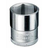Soquete Sextavado de 15mm com Encaixe de 3/8 Pol. - GEDORE-14023