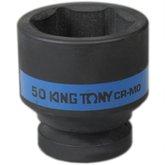 Soquete de Impacto Sextavado 50mm com Encaixe de 1 Pol. - KINGTONY-853550