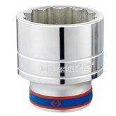 Soquete Estriado 41mm com Encaixe de 1 Pol. - KINGTONY-833041M