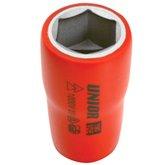 Soquete Sextavado Isolado 27mm com Encaixe 1/2 Pol. - UNIOR-617804BR