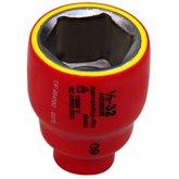 Soquete Sextavado IEC de 32mm com Encaixe de 1/2 Pol. - TRAMONTINA PRO-44335032