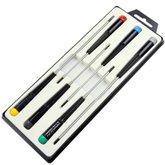 Jogo de Chaves de Fenda para Eletrônica com 6 Peças - TRAMONTINAPRO-44053206