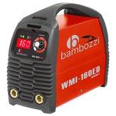 Fonte Inversora de Solda 160A Bivolt Automática - BAMBOZZI-WMI-160ED