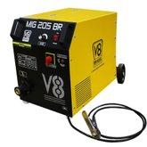 Máquina de Solda MIG 205A  Mono sem Tocha - V8 BRASIL-111722