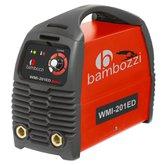 Fonte Inversora de Solda 200A Bivolt Automática - BAMBOZZI-WMI-201ED