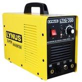 Máquina de Solda Inversora MMA+TIG 200A 220V LTIG-200 - LYNUS-4831.9