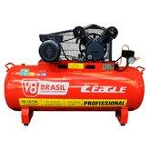 Compressor de Ar Monofásico 15 Pés 150 Litros 220V - V8 BRASIL-110533