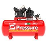 Compressor de Ar Trifásico 10 Pés 100 Litros - PRESSURE-ATG2-10/100VT-N