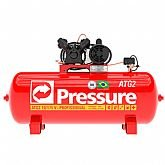 Compressor de Ar Monofásico 10 Pés 175 Litros - PRESSURE-ATG2-10/175VM-N