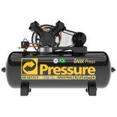 Compressor de Ar Trifásico 10 Pés 175 Litros - PRESSURE-ON-10/175BRT-N