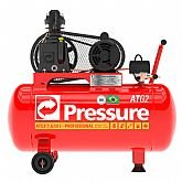 Motocompressor de Ar 7,6 Pés 50 Litros Monofásico Bivolt - PRESSURE-ATG2-7,6/50-IM