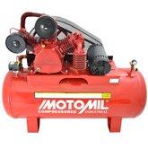 Compressor de Ar Industrial 175lbs 20 Pés 3P 200 Litros Trifásico 220/380V - MOTOMIL-15972.7