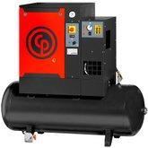 Compressor de Ar Parafuso 10HP 31PCM 265 Litros Trifásico 220V com Secador - CHICAGO-CPM-10/10,8-TD