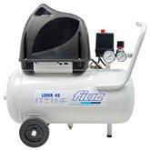 Compressor Odontológico Lider 1,5HP 6 Pés 24 Litros Isento de Óleo  - FIAC-40710