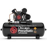 Compressor de Pistão 5HP 20 Pés 200 Litros 220/380V Trifásico  - CHICAGO-8969010003