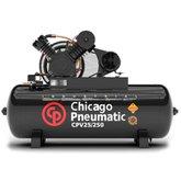 Compressor de Pistão 5HP 25 Pés 250 Litros 220/380V Trifásico - CHICAGO-8969010004