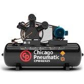 Compressor de Pistão 10HP 40 Pés 425 Litros 220/380V Trifásico - CHICAGO-8969010005